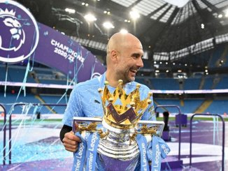 Pep Guardiola Wins EPL Manager Of The Season