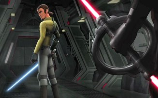 Freddie Prinze Jr. as 'Kanan' in Disney XD's STAR WARS REBELS