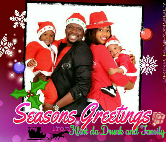 PHOTOSPEAK Nigerian Celebrities Send Out Family Christmas
