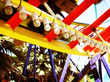 Rollercoaster Lights in Santa Cruz, California