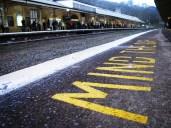 Train Station in Bath, England