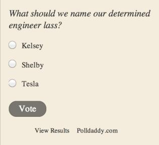Poll from tracycembor.com