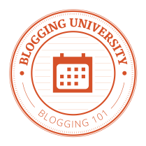 blogging 101 badge