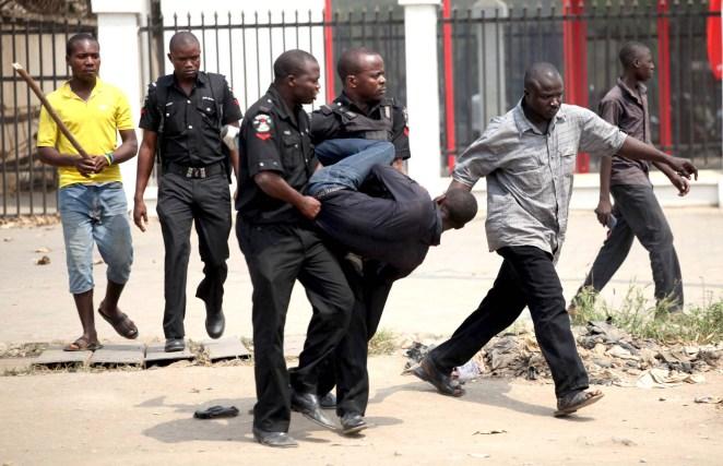 Image result for Nigerian police arrest man