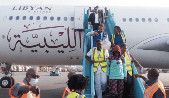 Image result for Libya deports 250 migrants to Niger