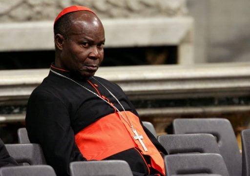 The Catholic Archbishop of Lagos Metropolitan See, Anthony Cardinal Olubunmi Okogie,