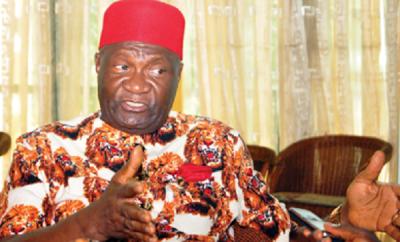Image result for Ohanaeze Ndigbo , Chief Nnia Nwodo