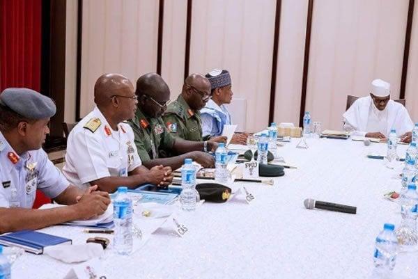 At last Buhari resumes office in Presidential Villa