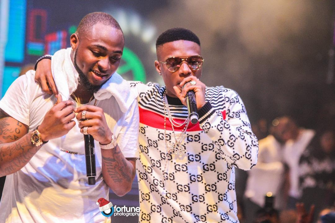 Davido and Wizkid top nominees' list For 2018