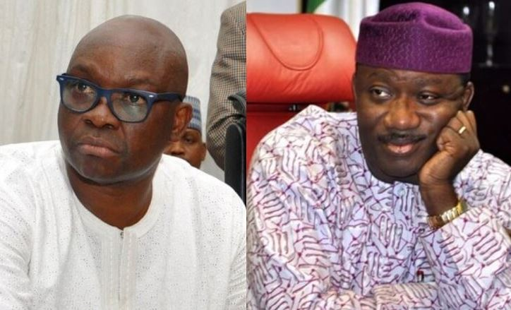 Image result for Fayose will go to jail after tenure – Fayemi
