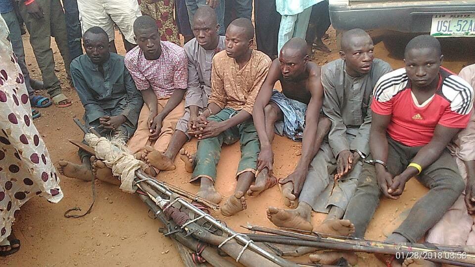 Meet his wife uchechi okwu kanu. Youths nab armed Fulani herdsmen in Delta PHOTOS - Daily