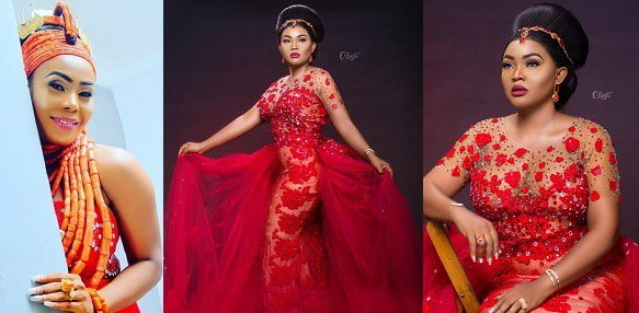 Image result for mercy AIGBE BIRTHDAY DRESS
