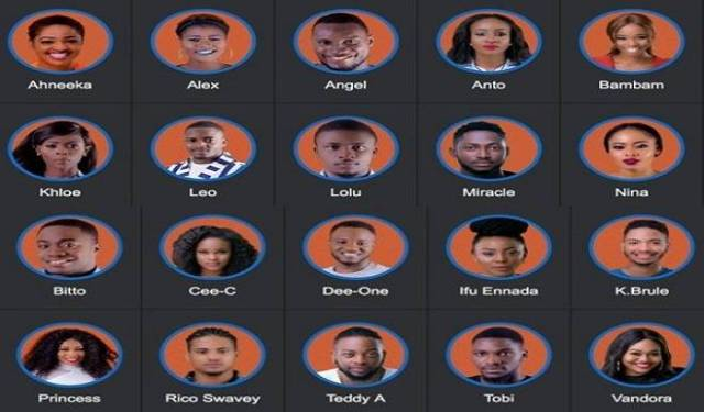 BBNaija2018: Big Brother Rename The Pairs [Read details]