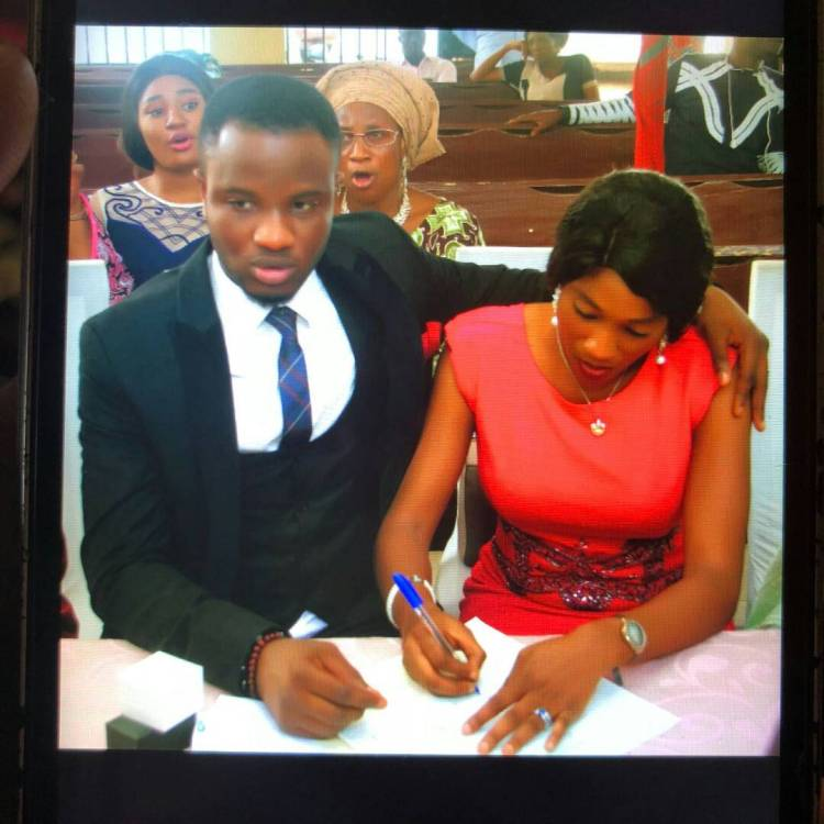 Dee-One Marriage Pictures Surfaces Online