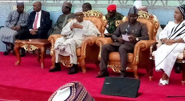 Image result for buhari in benue