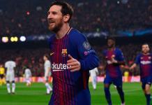 Lionel Messi Barcelona Sevilla Liga Real