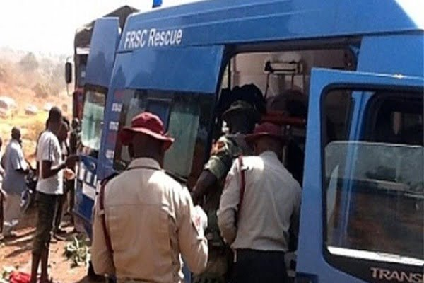 Image result for One dies as truck falls off flyover in Asaba