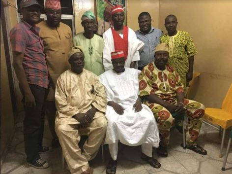 Image result for 2019: Kwankwaso meets Ladoja, Alli, others in Ibadan over presidential ambition [PHOTOS]