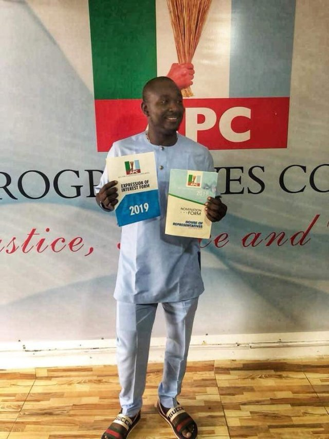NairaBET Founder, Akin Alabi Joins 2019 Race, Submits Nomination Form