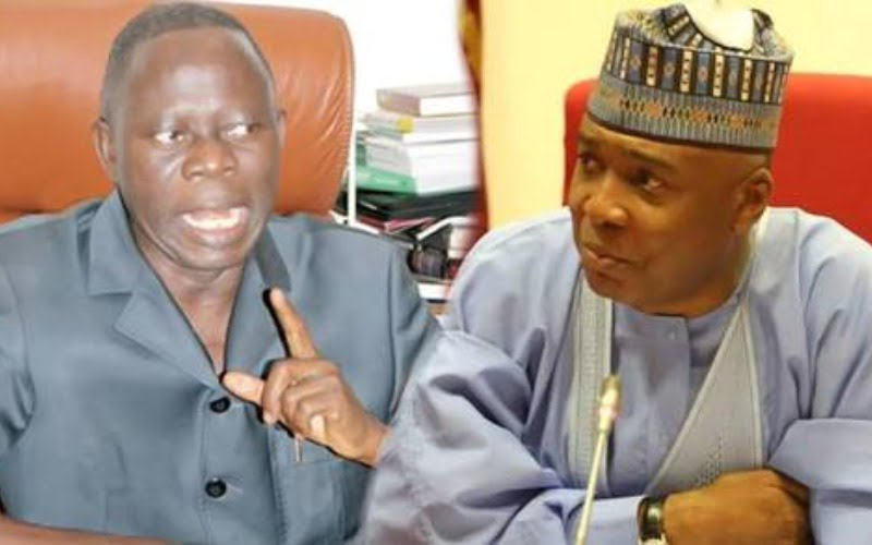 Image result for Saraki's political career dead, buried – Oshiomhole