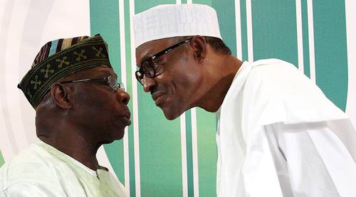 Buhari and Obasanjo - June 12: Buhari asks Obasanjo to explain why he shunned Democracy Day celebration
