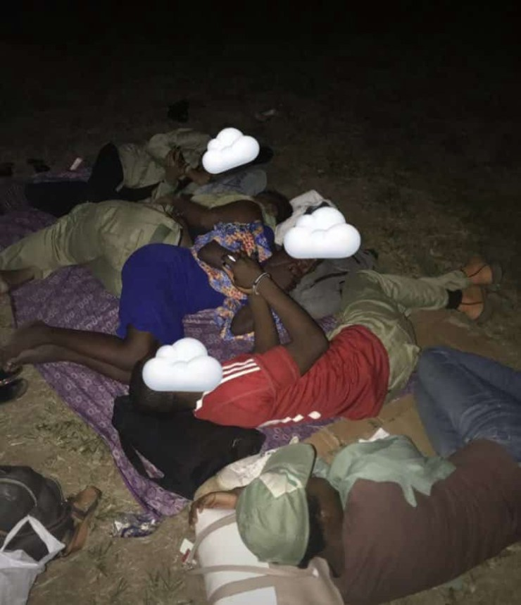 PHOTOS – Controversy as INEC abandon Ad-hoc staff, corps members outside polling units Image 15