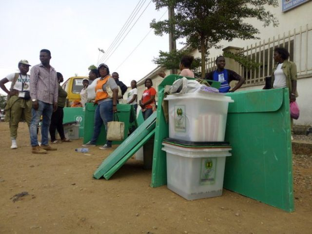 SECURITY AGENTS SHOOT DOWN A BALLOT THIEF IN AKWA IBOM