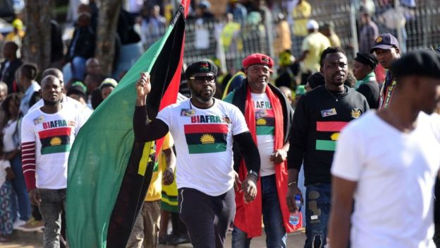 IPOB - Biafra: IPOB claims responsibility for Nigeria's exclusion from US-Africa summit
