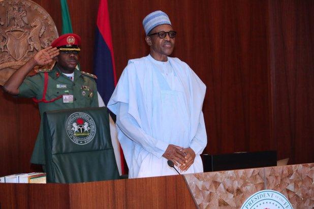 PRESIDENT BUHARI PRESIDES OVER FEC MEETING A - June 12: How Buhari proved himself a 'real hero' by renaming Abuja Stadium after MKO Abiola - Akerele