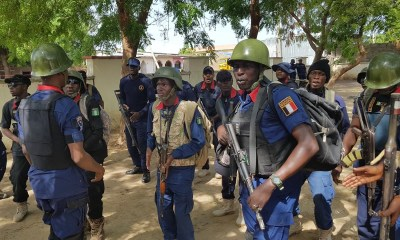 NSCDC nabs suspected electricity cable thieves in Bauchi 1