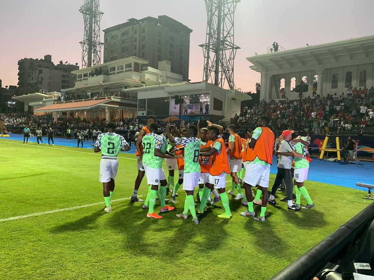 Eagles vs Cameroon July2019 - Nigeria vs Cameroon: Rohr reveals what he told Super Eagles players at half time