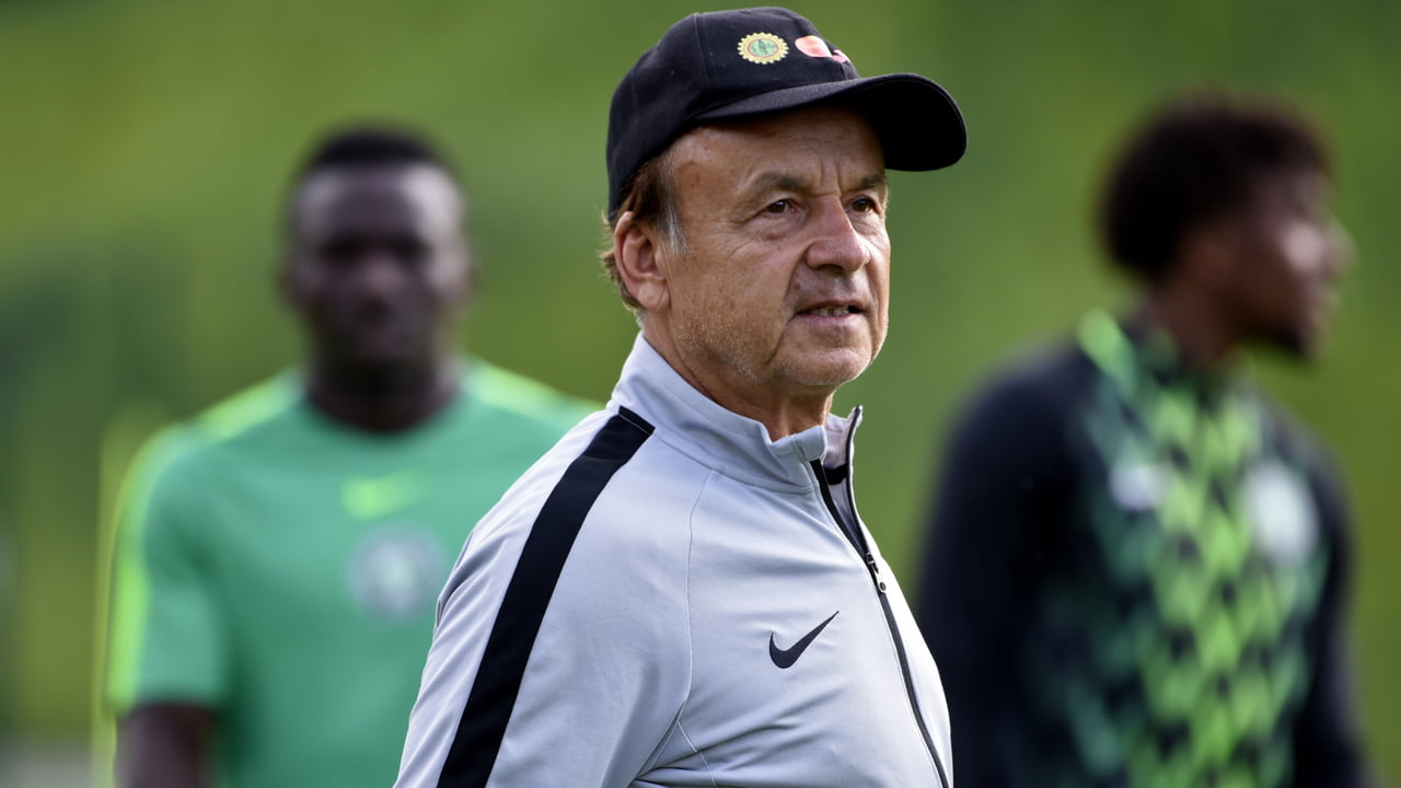 Gernot Rohr 1 - AFCON qualifier: Rohr praises Aina, Kalu after 2-1 win over Benin Republic