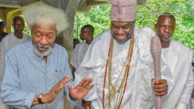 'Face of Justice' – Ooni of Ife sends message to Wole Soyinka 1