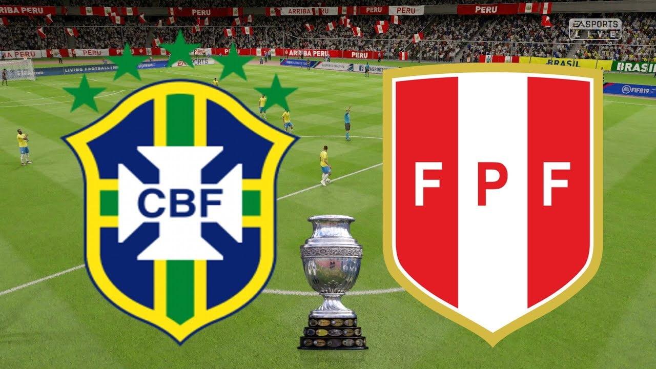 brazil - Brazil vs Peru: Livescore from Copa America final