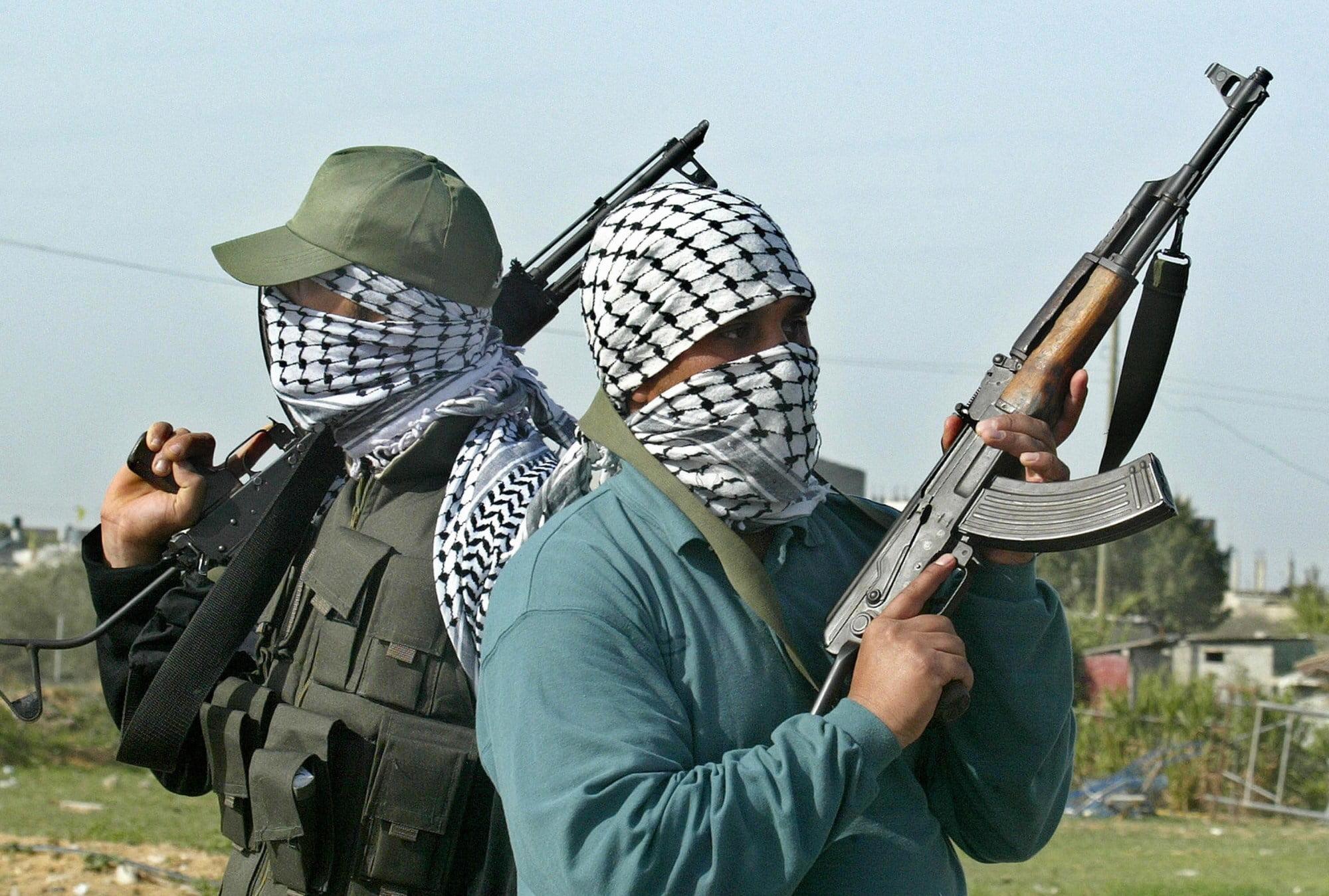 gunmen e1424907990566 1 - BREAKING: Yola Varsity Chaplain, Prof. Felix Ilesani, kidnapped