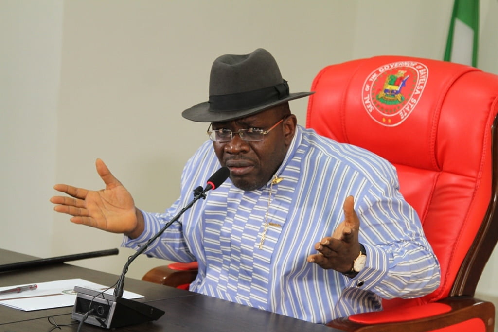 GOVERNOR MEDIA CHAT 058 - David Lyon's emergence as Bayelsa Governor-elect, a military coup against our democracy — Gov. Dickson