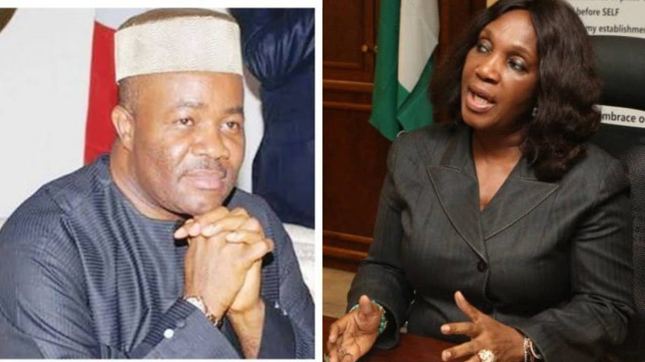 , More allegations against Akpabio as Joy Nunieh 'explodes', Effiezy - Top Nigerian News & Entertainment Website