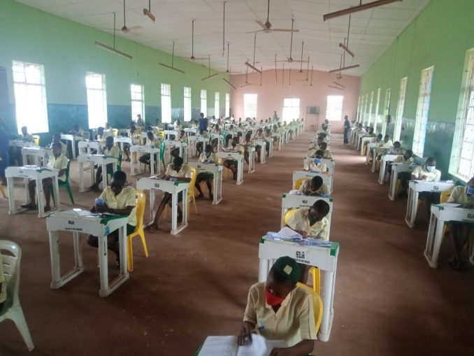 IMG 20200817 104451 802 1024x768 - COVID-19: Strict compliance as students sit for WASSCE in Ondo