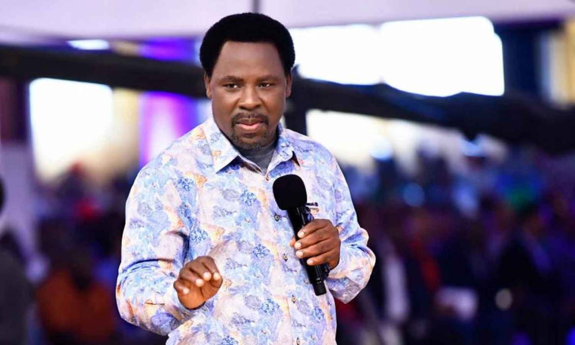 How T.B Joshua prophesied own death - Synagogue Church confirms - Daily  Post Nigeria