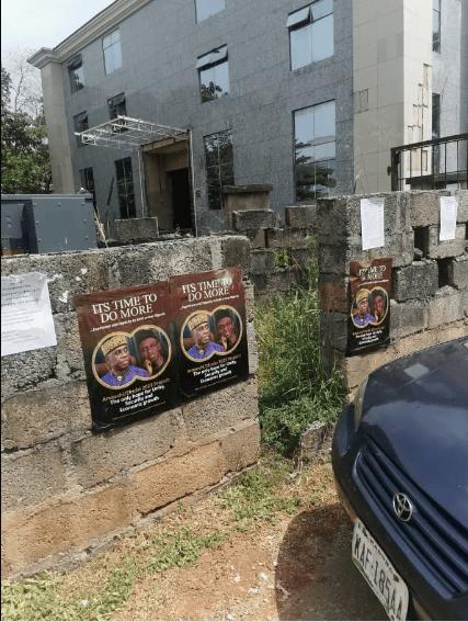 amaechi el rufai 2023 3 - 2023 presidency: Campaign posters of Amaechi for President, El-Rufai as VP flood Abuja [PHOTOS]
