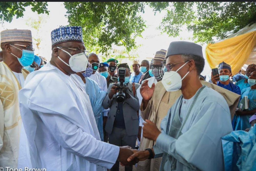 wedding1 - PHOTONEWS: Senate President, Lawan, Sanusi, Governors, others attend El-Rufai son's wedding in Abuja