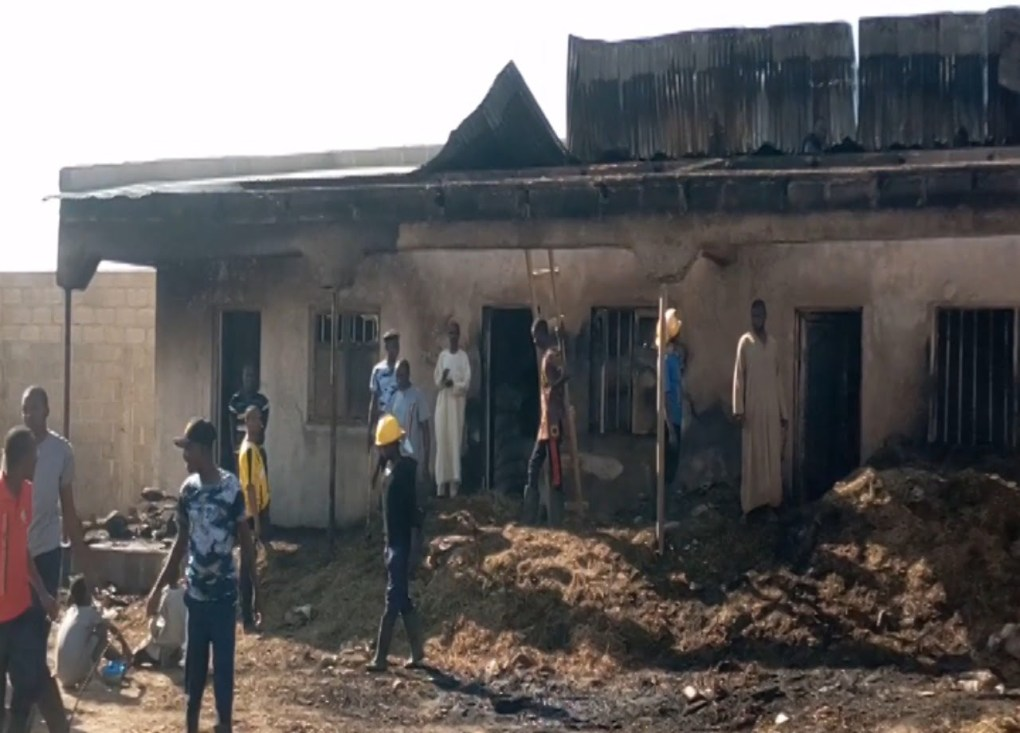Fire destroys farm produce, apartments, other valuables in Damaturu [PHOTOS]