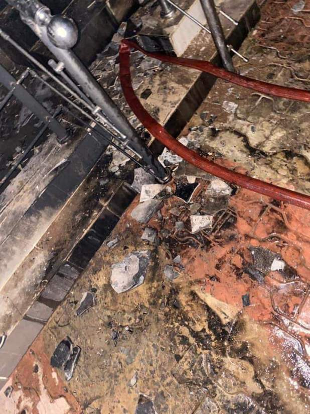 IMG 20210125 WA0131 - BREAKING: Sunday Igboho's house in Ibadan set ablaze [Photos, Video]