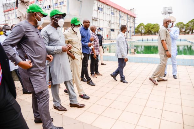 DSC 6721 scaled - National Sports Festival: Obaseki, Dare, insist athletes in Edo must be vaccinated