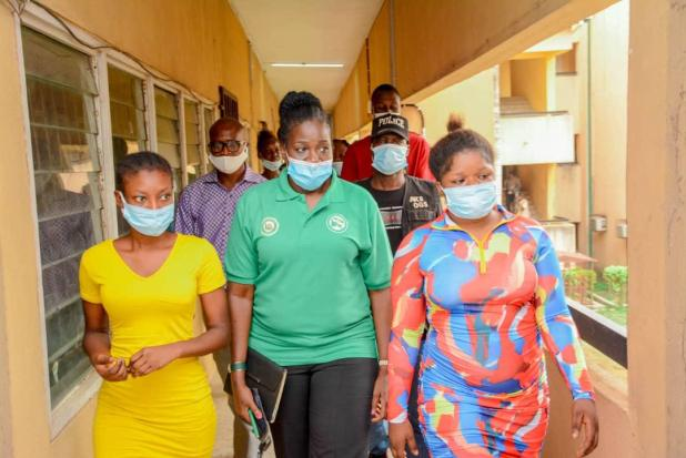 IMG 20210317 WA0025 - Kidnapping: Ogun govt hands over rescued OOU students to families [VIDEO]