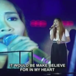 "Maricel Callo Sings ""If I Should Love Again"" on Filipino Show ""Tawag Ng Tanghalan"""