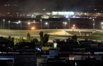 عراق کے شمالی شہر اربیل کا ایک منظر۔