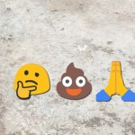 The serenity prayer told with emoji shit 💩