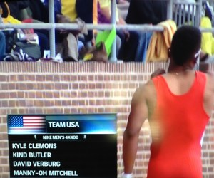 Sometimes they get your name wrong on TV