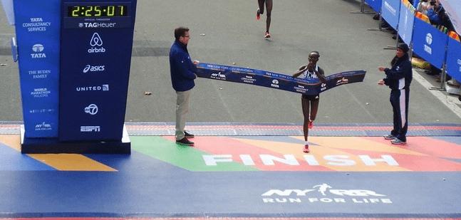 Sunday a reminder that, even for elites, marathoning hurts